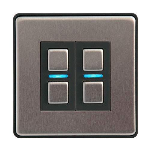 Lightwave L22 Smart Series Dimmer, 250 W, 230 V, L22 250W, 230V