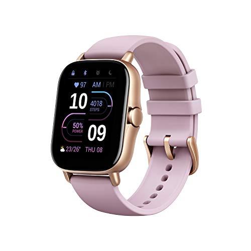 Amazfit Smartwatch GTS 2e GPS 1,65''Aktivitätstracker für Fitness...