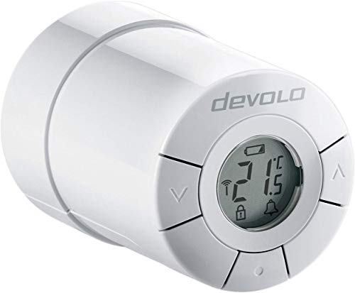 devolo Home Control Heizkörperthermostat (Funk Heizungssteuerung,...