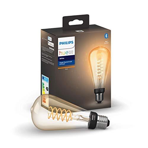 Philips Hue White E27 LED-Lampe Filament Giant Edison, Vintage-Design,...