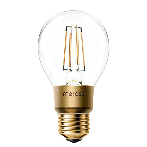 Smart Vintage Glühbirne Meross WLAN Glühbirne Dimmbare LED Lampe,...