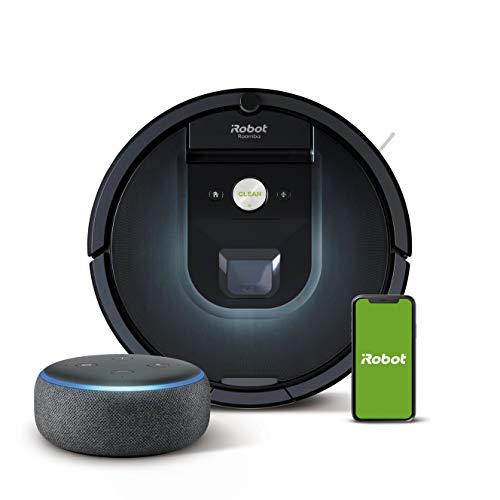 iRobot Roomba 981 Saugroboter mit 3-stufigem Reinigungssystem,...