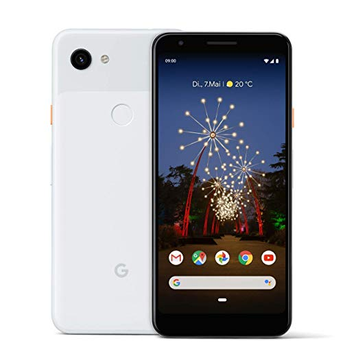 Google Pixel 3A XL 64GB Smartphone Android 9.0 (3A XL, Clearly White)