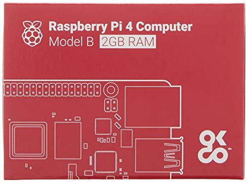 Raspberry Pi 4 Modell B Basisplatine, 2GB, ARM-Cortex-A72,...