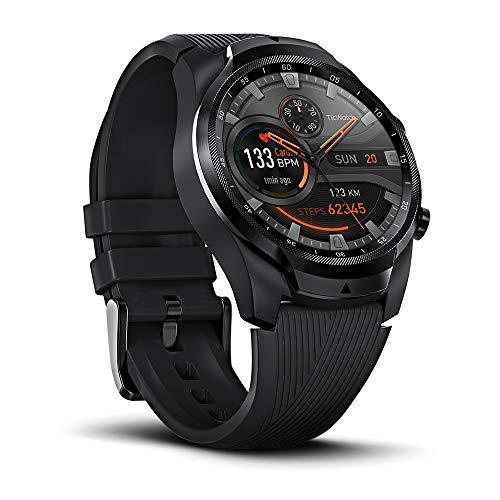 Ticwatch Pro 4G/LTE Version - mehrschichtiges Display für lange...