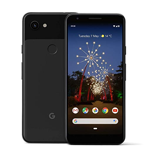 Google Pixel 3A 64GB Smartphone Android 9.0 (3A, Just Black)...