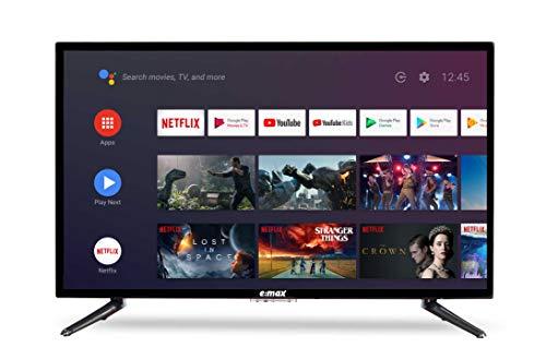 E:MAX E320HXA Android TV 32 Zoll 81cm (HD LED 32' Smart TV, Triple...