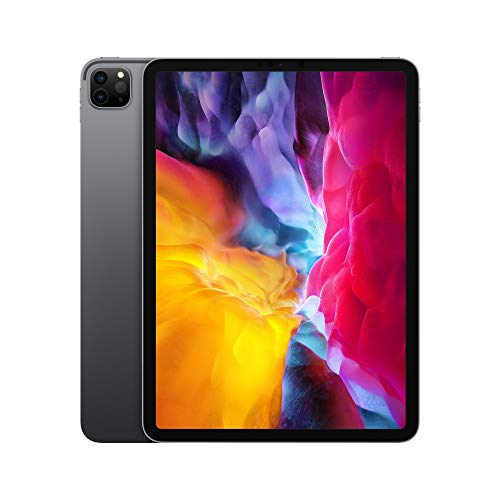 2020 Apple iPad Pro (12,9pouces, Wi-Fi + Cellular, 128Go) - Gris...
