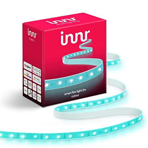 Innr Flex Light Color, 2m Smart LED Streifen, kompatibel mit Philips...