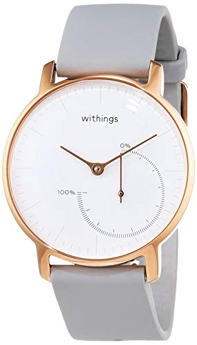 Withings Damen HWA01-PinkGold-all-Inter Armbanduhr, Rose Gold, 36 mm