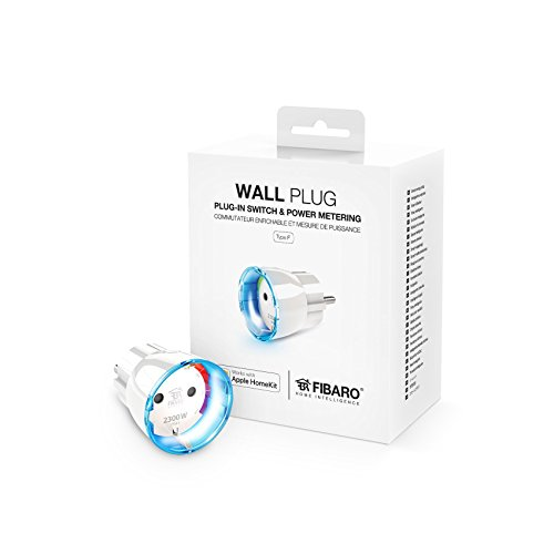 FIBARO HomeKit Wall Plug / iOS Bluetooth Smart Schalter, Steckdose...