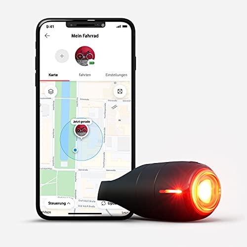 Vodafone Curve Bike Light & GPS Tracker, Fahrrad Brems- Rücklicht,...