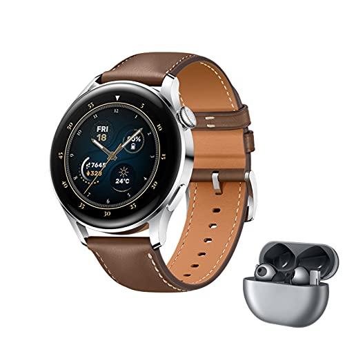HUAWEI WATCH 3 - 4G Smartwatch, 1.43'' AMOLED Display, eSIM Telefonie,...