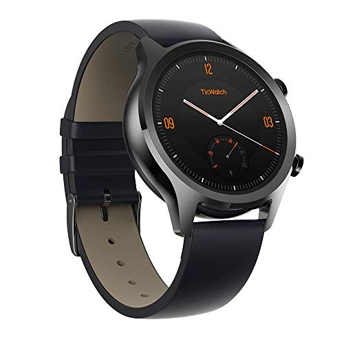 Ticwatch C2 Smartwatch, Wear OS von Google Classic Uhr, IP68 Sweat und...