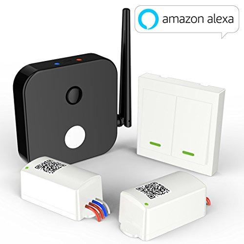 WisQo Alexa kompatibel intelligente WLAN lichtschalter. Funktioniert...