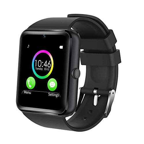 YAMAY Bluetooth Smartwatch Fitness Uhr Intelligente Armbanduhr Fitness...