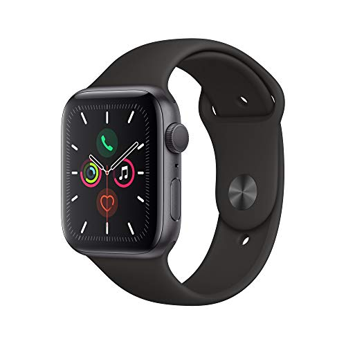 Apple Watch Series 5 (GPS, 44 mm) Aluminiumgehäuse Space Grau -...