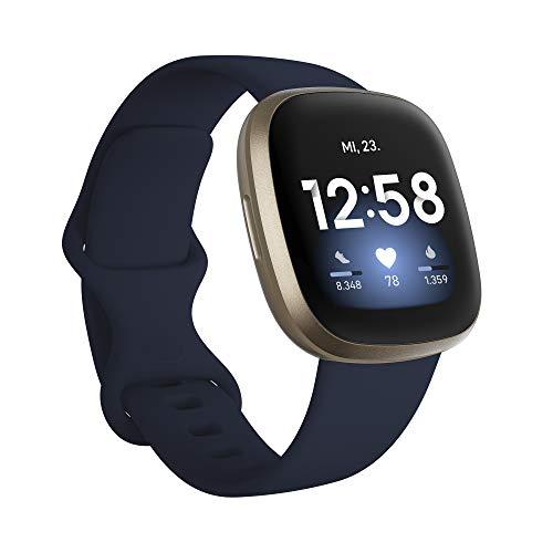 Fitbit Versa 3 - Gesundheits- & Fitness-Smartwatch mit GPS,...