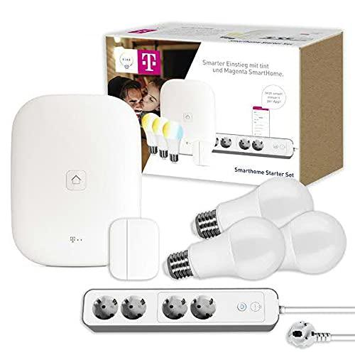 tint + Magenta Starter Set M: 3x tint LED-Birnenform E27 white, tint...