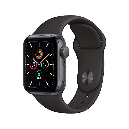Apple Watch SE (GPS, 40 mm) Aluminiumgehäuse Space Grau,...