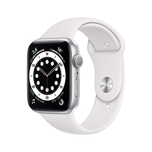 AppleWatch Series6 (GPS, 44mm) Aluminiumgehäuse Silber,...