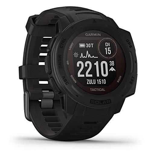 Garmin Instinct Solar Tactical - robuste GPS-Smartwatch mit taktischen...