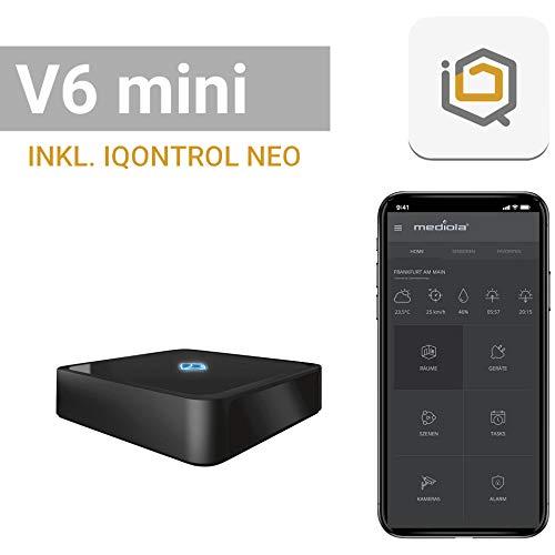 mediola AIO Gateway V6 Mini, inkl. IQONTROL NEO-App für z.B....