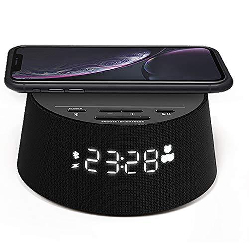 Philips Wecker PR702/12 Digitaler Wecker (Bluetooth, Kabelloses...
