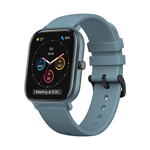 "Amazfit Smartwatch GTS mit 12 Sportmodi, GPS 1.65"" AMOLED Display..."