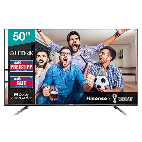 Hisense 50E76GQ QLED 127cm (50Zoll) Fernseher (4K QLED, Smart TV,...
