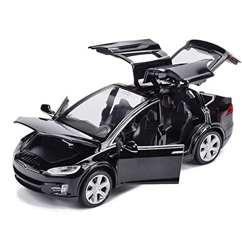 EisEyen Tesla Model X 90 1:32 Fahrzeug Legierung zurückziehen...