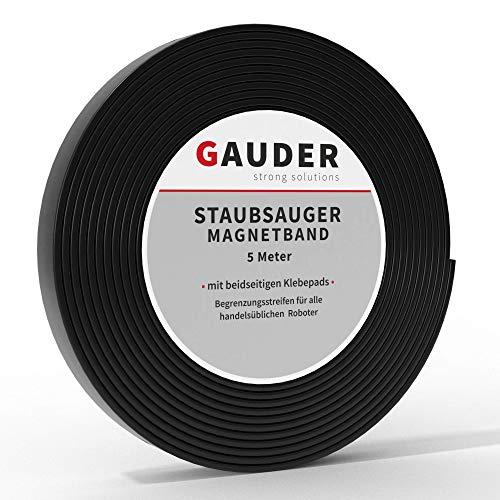 GAUDER Saugroboter Magnetband NEUE VERSION 2021 I Für Neato, Xiaomi,...