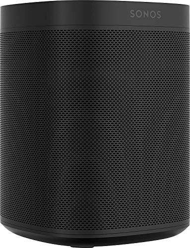 Sonos One Smart Speaker, weiß – Intelligenter WLAN Lautsprecher mit...
