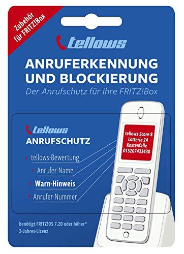 tellows Anrufschutz für die Fritz!Box - Festnetz Anruferkennung und...