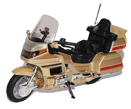 Welly Hon-da Goldwing Gold Wing Beige 1/18 Modellmotorrad Modell...