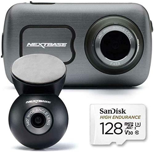 Nextbase 622GW Dashcam Auto vorne hinten- mit 128 GB SD-Karte-...