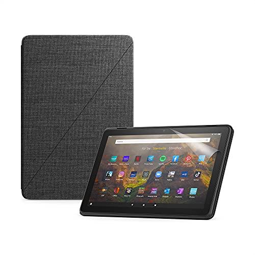 Das neue Fire HD 10-Tablet (32 GB, schwarz, mit Werbung) +...