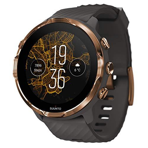 Suunto 7 Smartwatch mit vielseitigen Einsatzmöglichkeiten und Wear OS...