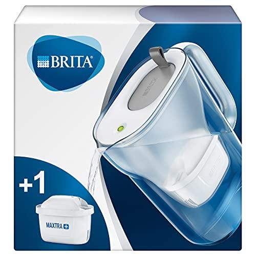 BRITA Wasserfilter Style hellgrau inkl. 1 MAXTRA+ Filterkartusche –...