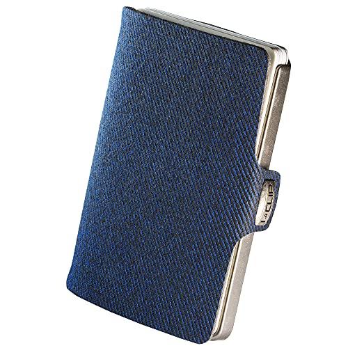 I-CLIP Original Silver Denim Blue Modell 2018, Geldbörse, Kartenetui,...