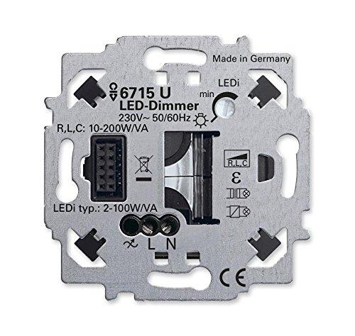 Busch-Jaeger LED-Dimmer-Einsatz 6715 U ZigBee Light Link Dimmer...