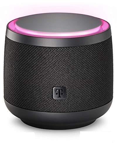 Smart Speaker der Telekom in schwarz | smarte Sprachsteuerung per WLAN...