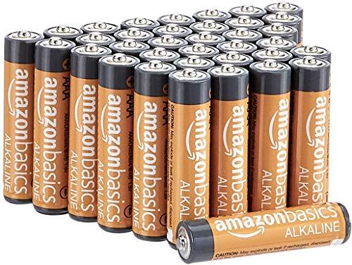 Amazon Basics AAA-Alkalibatterien, leistungsstark, 1,5V, 36 Stück...