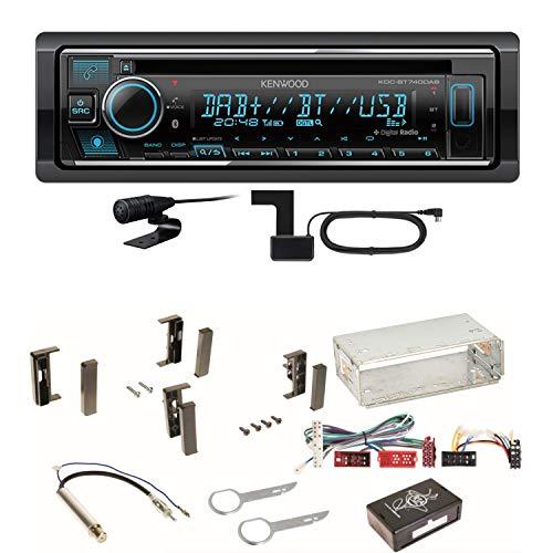 Kenwood KDC-BT740DAB Digitalradio CD DAB+ MP3 USB FLAC Bluetooth AUX...