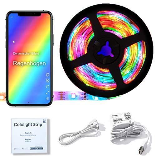 Cololight LED STRIP 30 - RGB Leuchtstreifen, WLAN, kompatibel mit...