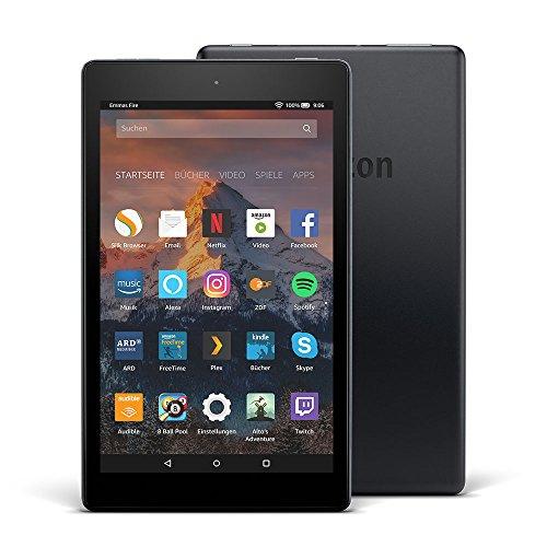 Fire HD 8-Tablet mit Alexa, 20,3 cm (8 Zoll) HD Display, 16 GB...