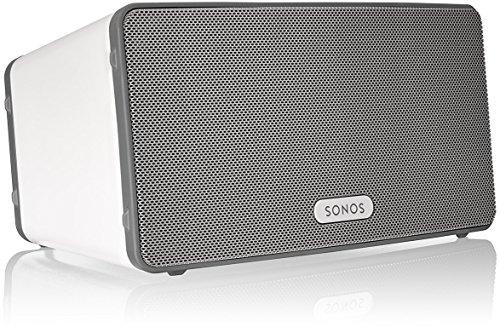 Sonos Play 3 Lautsprecher (WLAN, für Musikstreaming) weiß