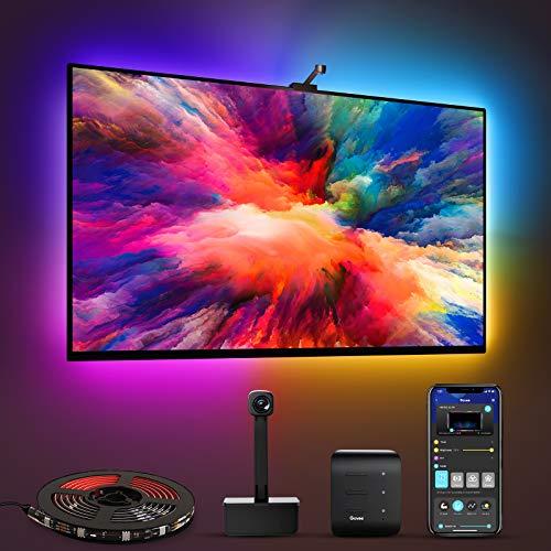 Govee Immersion WiFi LED TV Hintergrundbeleuchtung mit Kamera, für...