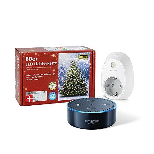 Dein smarter Christbaum: Set bestehend aus Amazon Echo Dot (2....
