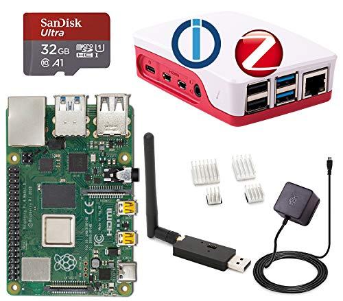 Raspberry Pi 4 Model B, 4 GB (4GB) mit ioBroker + ZigBee USB Stick...